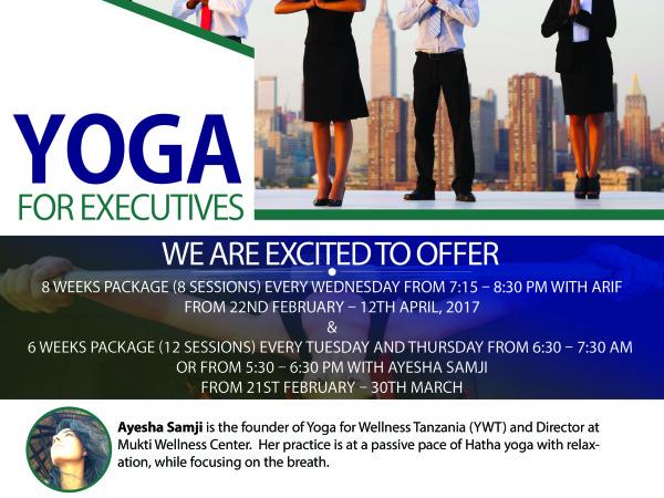Yoga for Executives